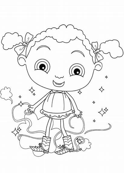 Coloring Feet Pages Franny Frannys Info Cartoons
