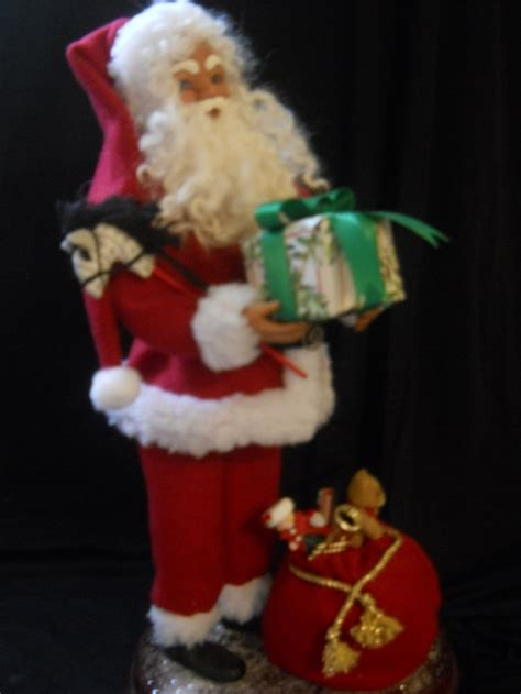traditional santa claus ringing on 46 best images about my ooak santa claus dolls on pinterest