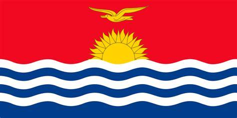 Fotos von Kiribati Flagge