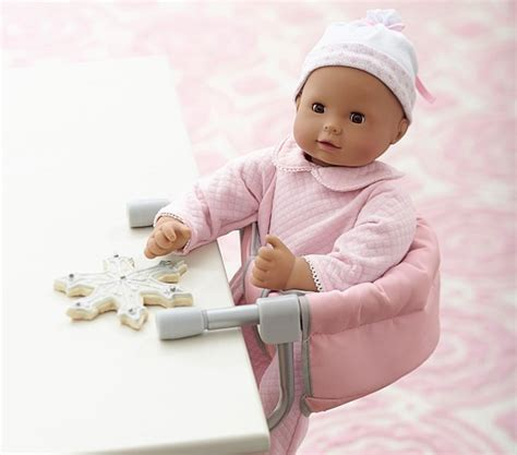 doll booster seat for table baby doll high chair attached table chairs seating