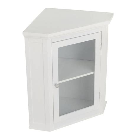 white bathroom corner wall cabinet elegant home fashions wilshire 21 1 4 in w x 23 3 4 in h