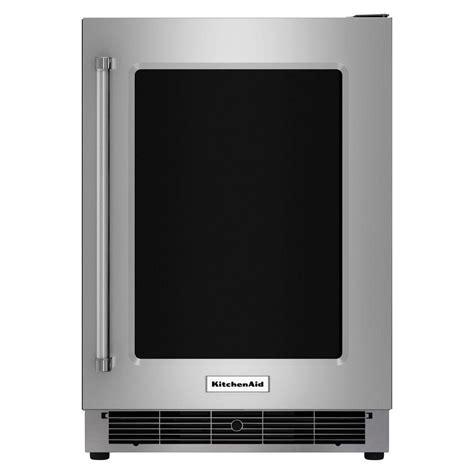 Kitchenaid Undercounter Refrigerator With Maker by Kitchenaid 5 1 Cu Ft Undercounter Refrigerator In