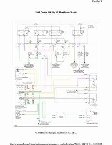 2009 Pontiac G6 Headlight Wiring Diagram