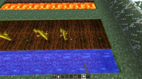 minecraft tutorial como plantar todo tipos de semillas