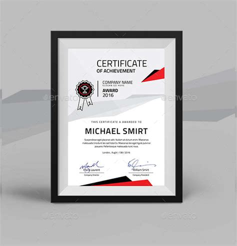 certification templates word ai psd examples