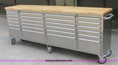 siebel   stainless steel work bench item