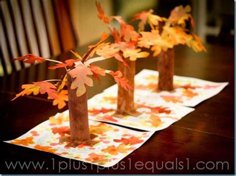 fall trees fun family crafts