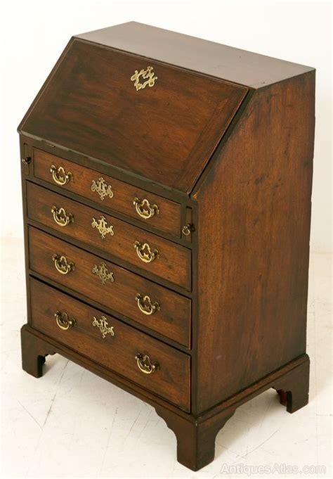 georges bureau george ii mahogany bureau antiques atlas