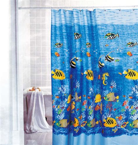 Beautiful Kids Shower Curtains for Children's Bathrooms