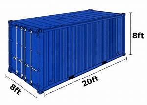 20 Fuß Container In Meter : container size 20 feet container size 20 39 container 40 ft container size container house ~ Frokenaadalensverden.com Haus und Dekorationen