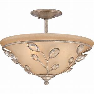 Quoizel wsy if wesley traditional semi flush mount