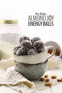 No-Bake Almond Joy Energy Balls | Recipe | Almond joy ...