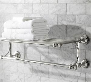 mercer train rack traditional towel bars and hooks With train rack bathroom shelf
