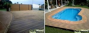 Matériaux Pour Terrasse : 8 conseils pour une plage de piscine tropicale ~ Edinachiropracticcenter.com Idées de Décoration