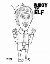 Elf Coloring Buddy Pages Printable Christmas Shelf Elves Jovie Ferrell Printables Bodies Quote Books Mcillustrator Them Email Wall Tag Template sketch template