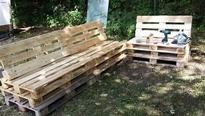 mode d39emploi salon de jardin en palette les cabanes de With meuble de jardin avec palette en bois