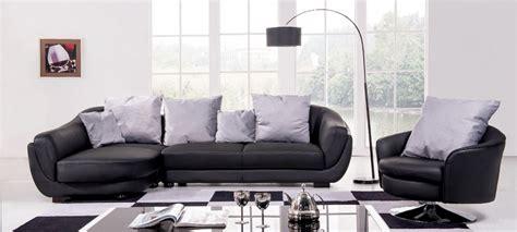 canapé d angle en cuir noir canapé d 39 angle gauche cuir noir colorado