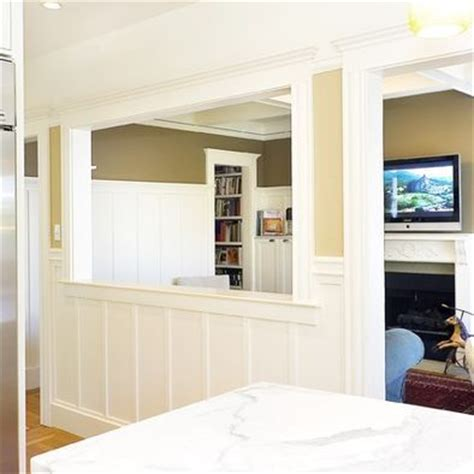 half wall ideas getting some ideas half wall between kitchen and living room kitchen dining room ideas