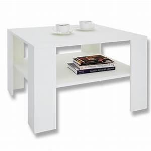 Couchtisch Weiß Hochglanz Rechteckig : couchtisch wohnzimmer beistell 68 x 68 cm sofa mit ablage in versch farben ebay ~ Markanthonyermac.com Haus und Dekorationen