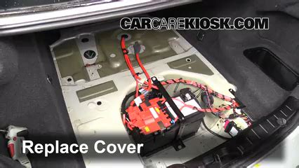 Battery Replacement 20102017 Bmw 535i  2011 Bmw 535i 3
