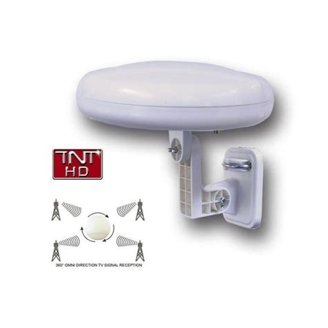 antenne omnidirectionnelle tnt hd ronde 360 176 antenne
