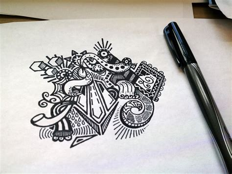 30 Inspirational Sketchbook Doodles and Drawings ...