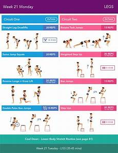 Week 21 Monday Bikini Body Guide 2 0 By Kayla Itsines