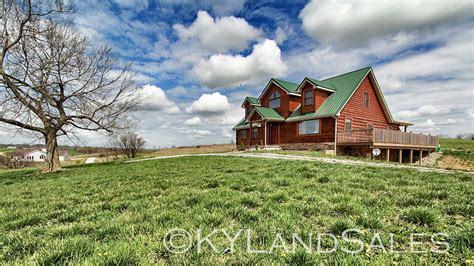 cabins in kentucky log cabin home for in kentucky 16 acres views