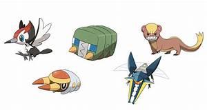 Pokemon Sun And Moon New Pokemon Pictures