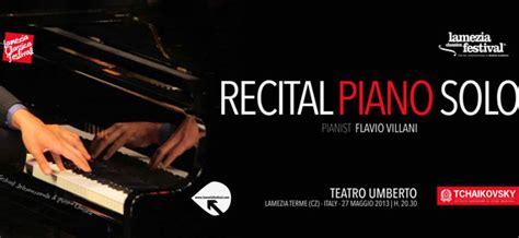 Classica Festival, Questa Sera Recital Piano Solo