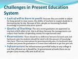 essay on present education system is good or bad