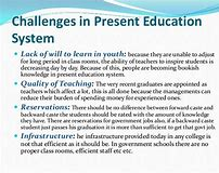 Changes in education system in india essay