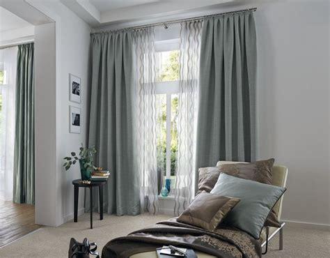 Gardinen, Übergardinen Als Sichtschutz Für Fenster, Flur