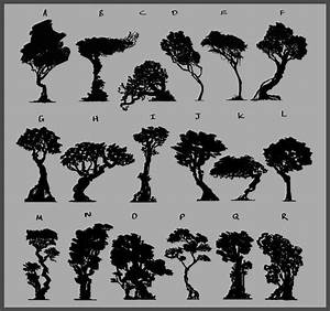 1323 Best   Tree Silhouettes  Vectors  Clipart  Svg