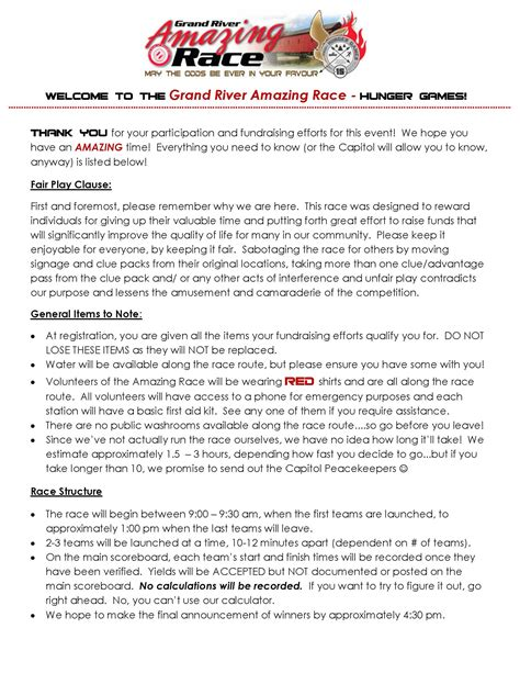 Who Was Kitchener by Race Day Rules And Information 171 Grand River Amazing Race