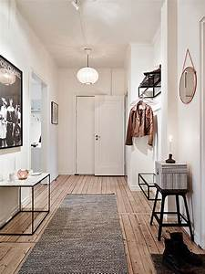 scandinavische hal interieur inrichting With couleur peinture couloir sombre 4 une entree et un couloir contrastes home by marie