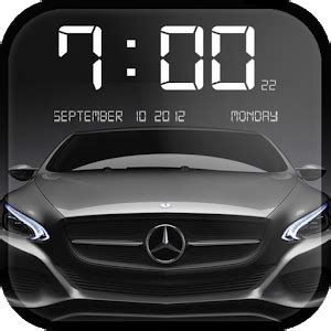 Cars Clock Wallpaper  Android Apps On Google Play