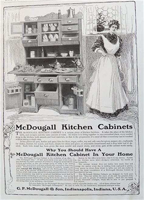 mcdougall hoosier cabinet ad vintage household ads