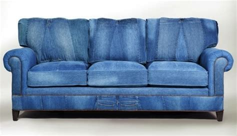 blue jean denim sofa cool denim sofas for unique and gorgeous home look best