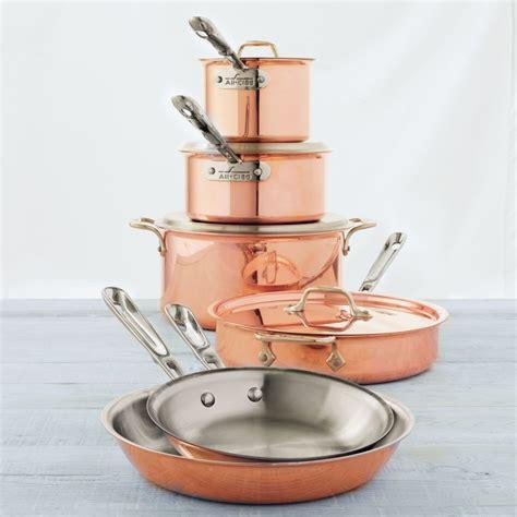 clad copper clad  piece set sur la table toy kitchen copper kitchen cooking gadgets