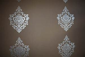 Painting stencils on walls with damascus wall painting for Interior wall painting ideas stenciling