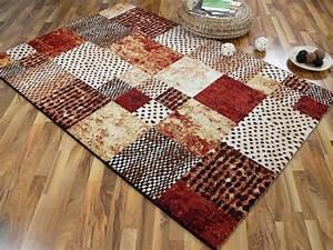 patchwork teppich eine besonderheit fur sich archzinenet With balkon teppich mit tapete warme farben