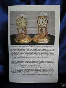 Key Wind 400 Day Anniversary Clock Owners Manual