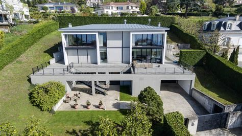 villa moderne a vendre villa moderne avec vue panoramique sur le lac l 233 et g 233 n 232 ve 224 vendre 224 cologny suisse