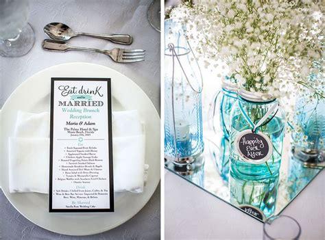 teal turquoise decoratie bruiloft wedding thema blauw kleur aankleding bruidsdecoratie