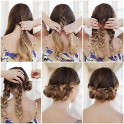 garden markers creative ideas diy easy braided updo hairstyle