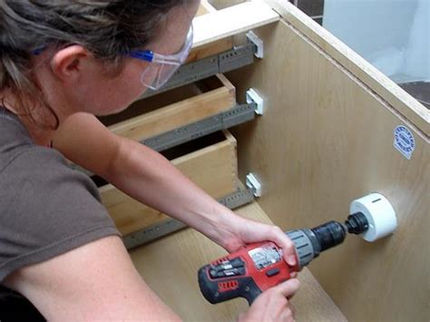 how to install bathroom cabinets and vanities how to install a vanity and storage cabinets how tos diy