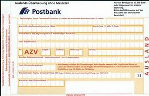Iban Berechnen Postbank : auslands berweisung kosten geb hren f r berweisungen ins ausland sepa iban bic ~ Themetempest.com Abrechnung