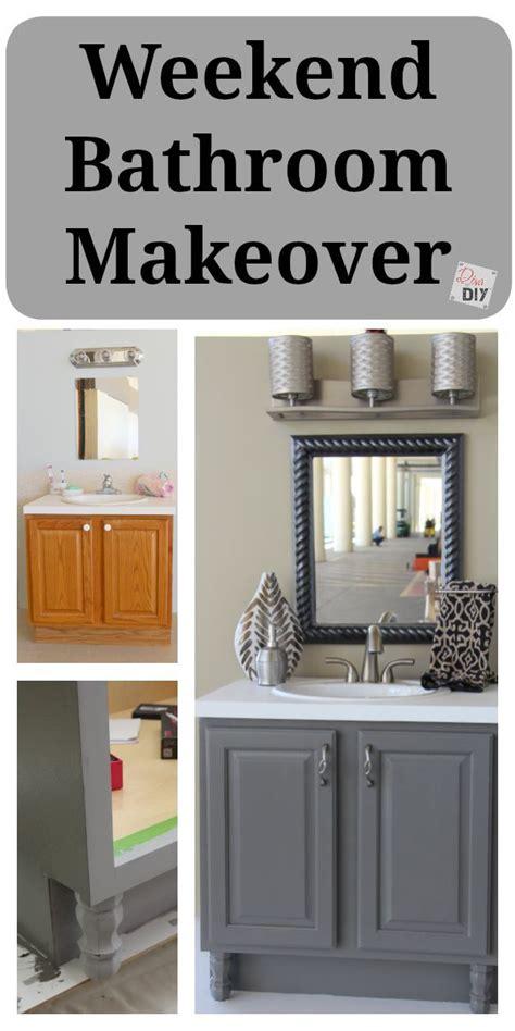 Diy Bathroom Remodel Ideas 4 Diy Bathroom Ideas That Are And Easy L Grey Vanities And Cabinets