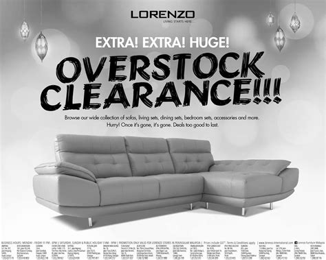 lorenzo overstock clearance sale home furniture